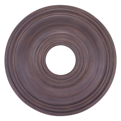 1 Ceiling Medallion Finish: Imperial Bronze
