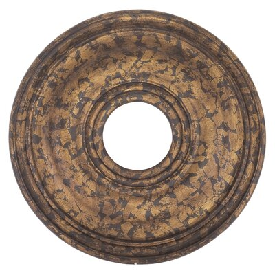 1 Ceiling Medallion Finish: Venetian Golden Bronze