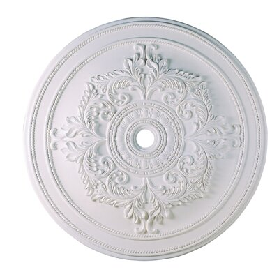 Polyurethane Foam Ceiling Medallion Finish: White