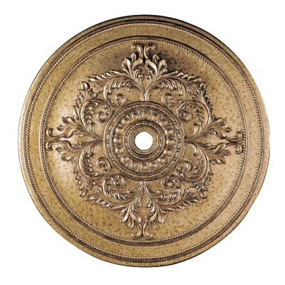 Polyurethane Foam Ceiling Medallion Finish: Vintage Gold Leaf