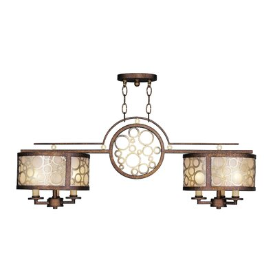 Laufer 6-Light Kitchen Island Pendant