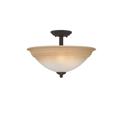 Haydel 3-Light Semi Flush Mount