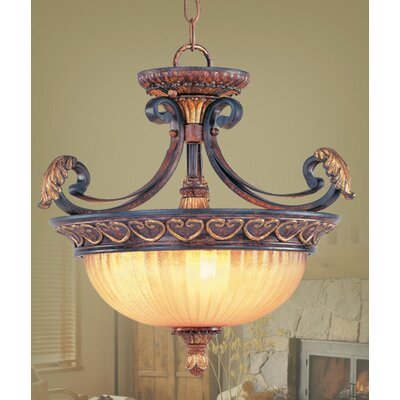 Scottdale Convertible Inverted Pendant Size: 15.25 H x 15.25 W x 15.25 D