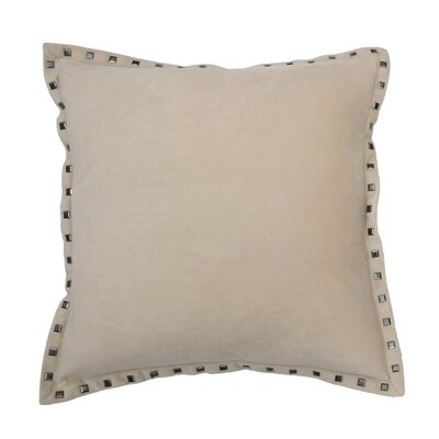 Payton Nailhead Throw Pillow Color: String