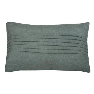 Corey Pleated Lumbar Pillow Color: Harbor