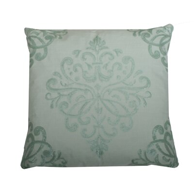 Quinn Sequin Trellis Throw Pillow Color: Harbor