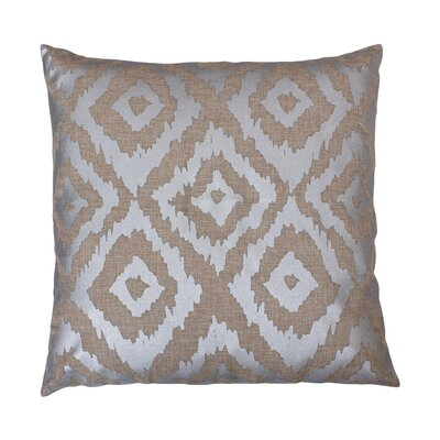 Munoz Foil Printed Throw Pillow Color: Natural