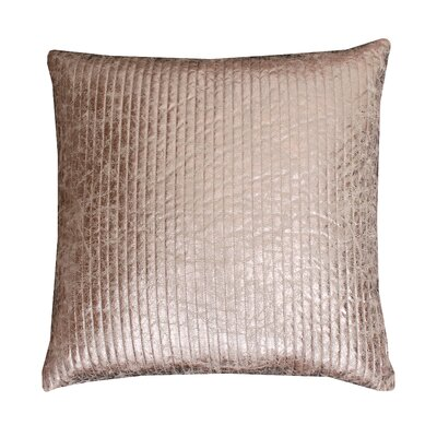 Gary Quilted Crackle Throw Pillow Size: 26 H x 26 W x 1 D