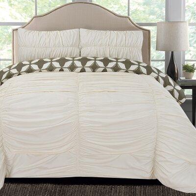 Taylor Microfiber Comforter Set Size: King
