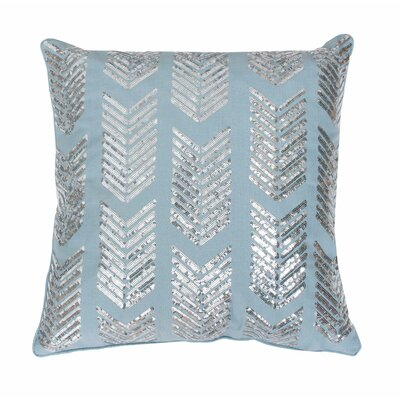 Hadara Sequin Arrow Throw Pillow Color: Tourmaline / Silver