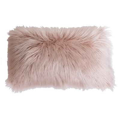 Archibald Faux Fur Lumbar Pillow