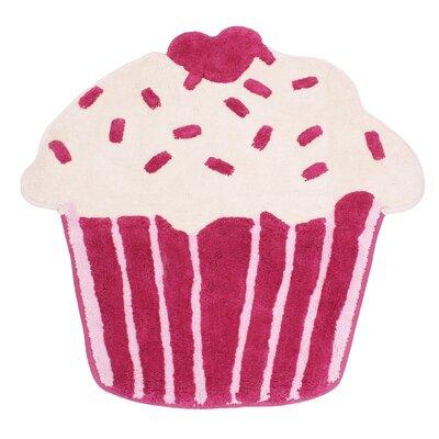 Cupcake Pink Area Rug