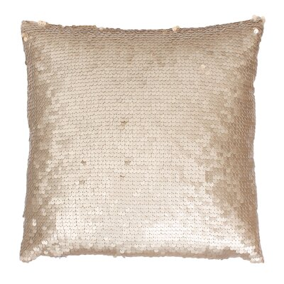 Ollie Throw Pillow Color: Gold