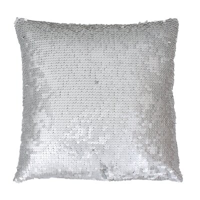 Ollie Throw Pillow Color: Silver
