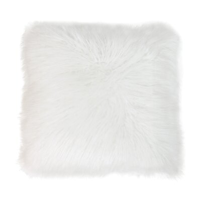 Keller Throw Pillow Color: Antique White, Size: 20 H x 20 W x 1 D