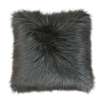 Keller Throw Pillow Color: Charcoal, Size: 26 H x 26 W x 1 D