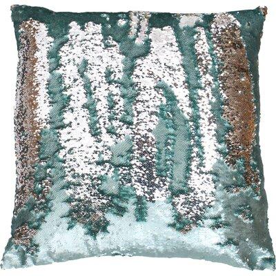 Fiqueroa Throw Pillow Color: Harbor Silver
