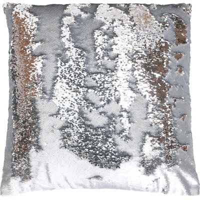 Fiqueroa Throw Pillow Color: Silver Silver