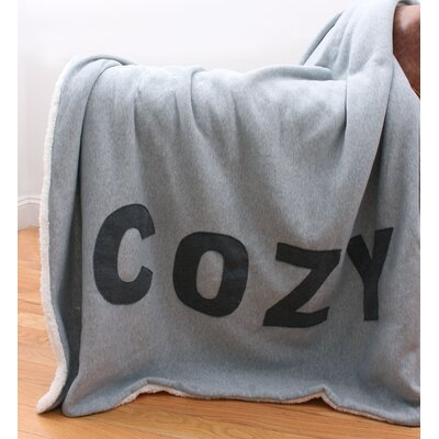 Cozy Applique Jersey Throw