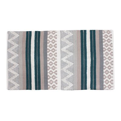 Jayden Green/Gray Area Rug
