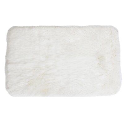 Keller Bright White Area Rug