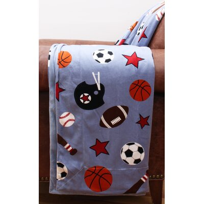 Sports Microplush Throw