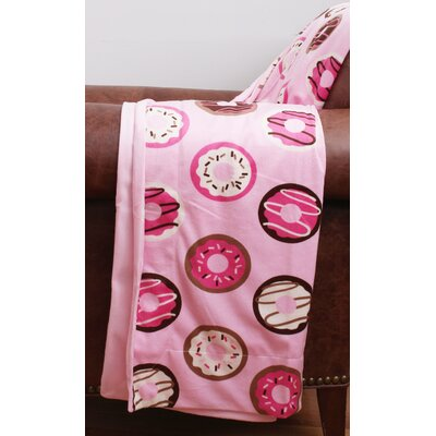 Donna Donut Microplush Throw