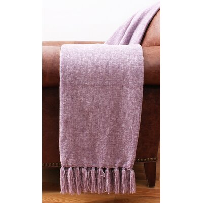 Cece Chenille Fringe Throw Color: Nirvana