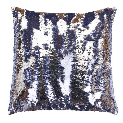 Fiqueroa Throw Pillow Color: Nirvana Silver
