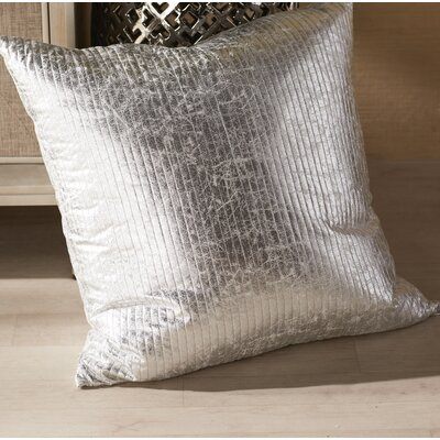 Gary Quilted Crackle Throw Pillow Size: 20 H x 20 W x 1 D