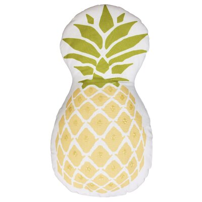 Pineapple Cotton Throw Pillow