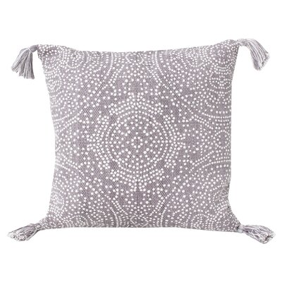 Cherree Reversible Dot Cotton Throw Pillow Color: Nirvana