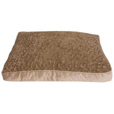 Carter Faux Fur Dog Pad Color: Brown