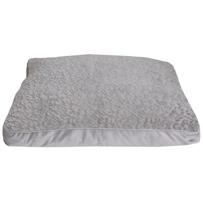 Carter Faux Fur Dog Pad Color: Gray