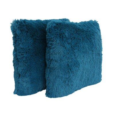 Alvarado Throw Pillow Color: Ocean Depths