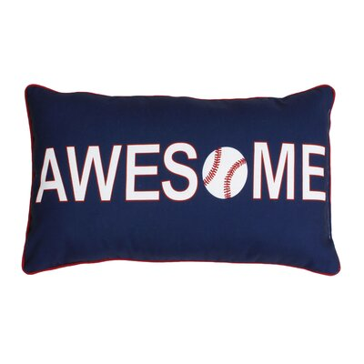 Catlin Awesome Baseball Reversible Lumbar Pillow