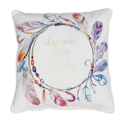 Atherton Dream Big Printed Throw Pillow