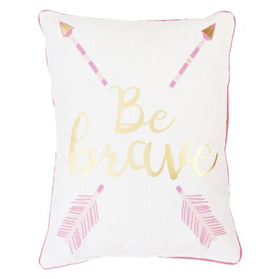 Ardmore Be Brave and Kind Reversible Printed Lumbar Pillow