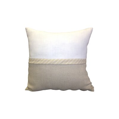 Riley Bow Throw Pillow