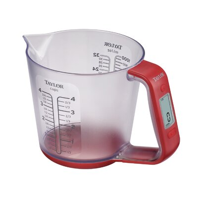 4 Cups Digital Scale with Measuring Cup 3890