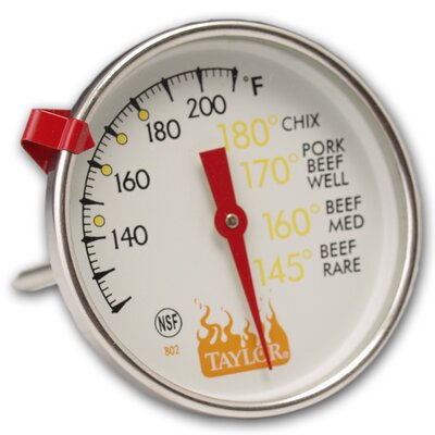 Weekend Warrior Meat Thermometer Set of 6
