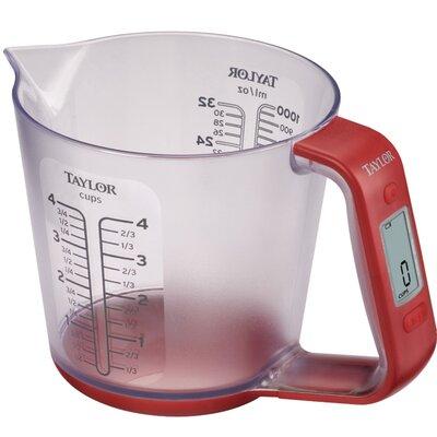 4 Cups Plastic Digital Measuring Cup Scale 3890