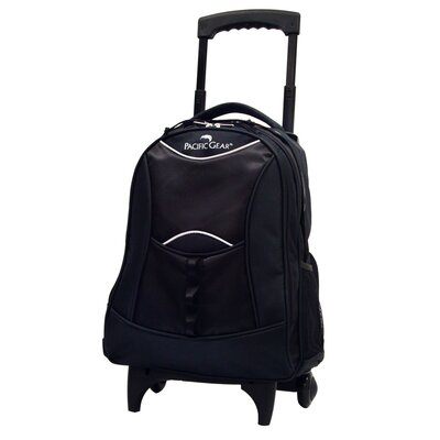 Traveler's Choice Pacific Gear Lightweight Wheeled Backpack - Color: Black at Sears.com