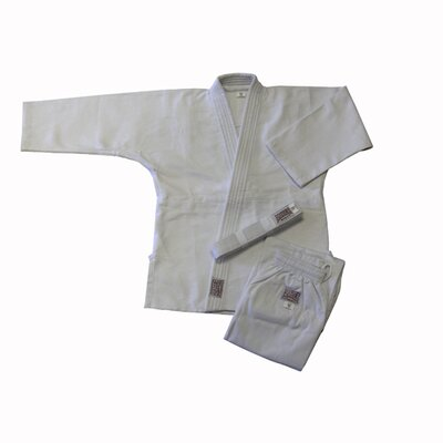 No credit check financing Judo Single Weave White Uniform (Si...
