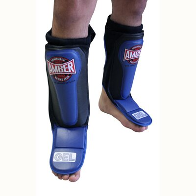 Rent to own Gel Shin and Instep Guards Slip on ...