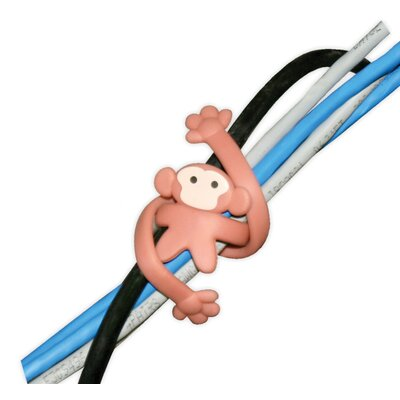 Image of Kikkerland Kikkerland Monkey Cable Twister (Set of 2) (KKL1333)