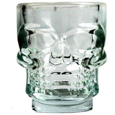1.5 oz. Skull Shot Glass GL06