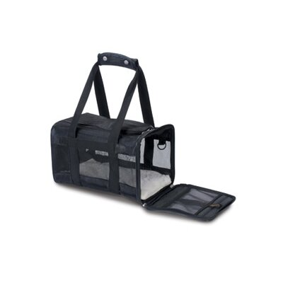 Original Deluxe Pet Carrier Size: Large (11.5H x 11.75 W x 19 L ), Color: Black