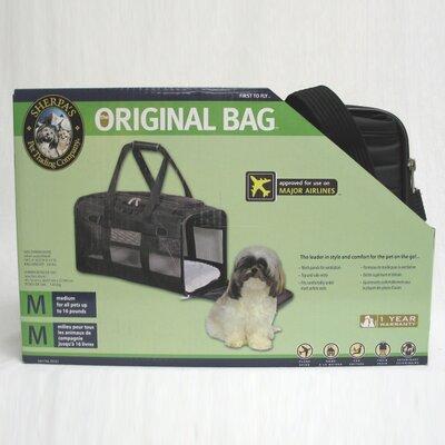 Deluxe Pet Carrier Color: Black, Size: Medium (8.5 H x 11.75 W x 19 D)