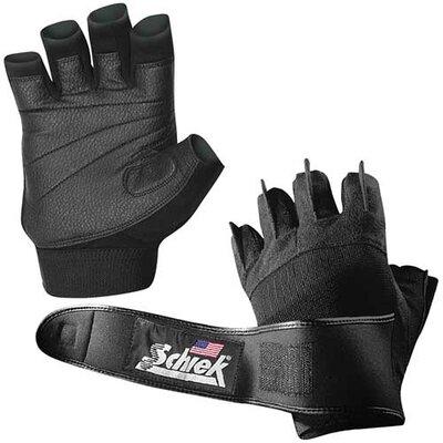 "SCHIEK SPORTS Platinum Gel Lifting Gloves with Wrist Wrap in Black - Size: XXXL (12"" - 13""), Color: Black at Sears.com"